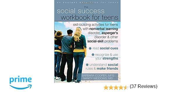 Amazon.com: The Social Success Workbook for Teens (9781572246140 ...