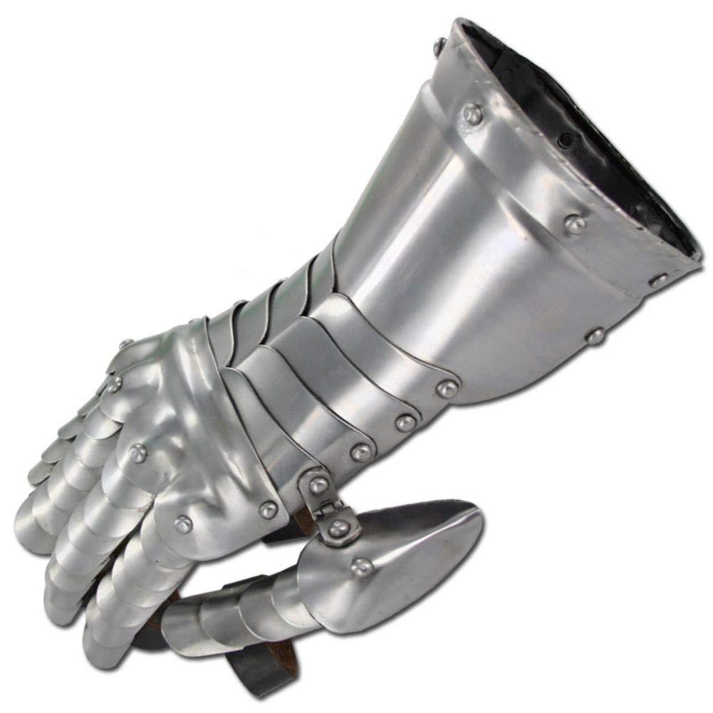 Medieval Knight Gauntlets Functional Steel Armor Gloves