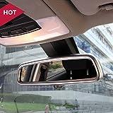 Interior Rear View Mirror Frame Cover Trim 1pcs For Jaguar XF X260 2016