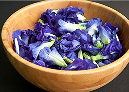 Blue pea flower Butterfly pea Flower 1000 seeds, 30 pcs thread by Is yourself (Image #4)