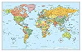 ISBN: 0528012797 - Rand McNally Signature Map of the World, 50 x 32-Inch