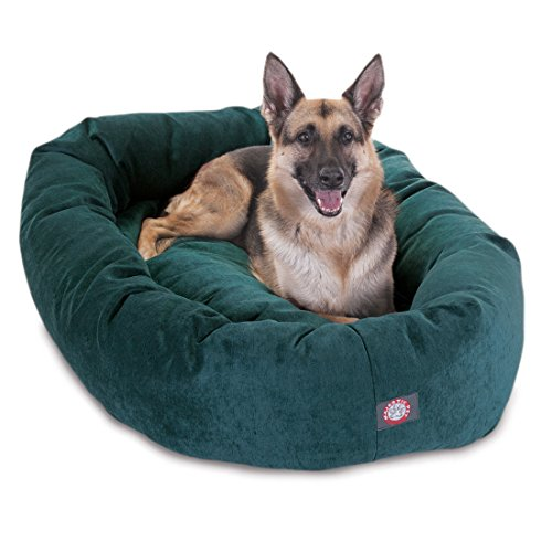 Micro Velvet Bagel Dog Bed By Majestic Pet Products