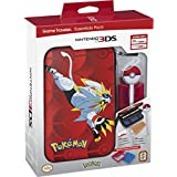 Nintendo 3DS Pokemon Sun & Moon Starter Kit - Solgaleo with PokeBall Stylus - Nintendo 3DS