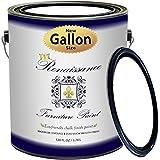 Renaissance Chalk Finish Paint - 1 Gallon - Chalk Furniture & Cabinet Paint - Non Toxic, Eco-Friendly, Superior Coverage - Snow (128oz)