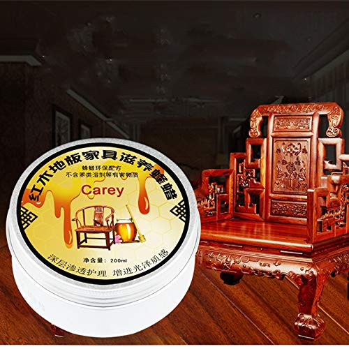 (Wood Glue - Carey Beeswax Mahogany Wax Furniture Maintenance Oil Laminate Floor Toss Care Varnish 200ml - Frame Dollhouses Extend Scraper Nails Adhesive Cabinets Accessories Spray Powder Q)