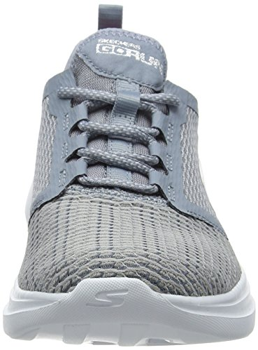 Donna Run Scarpe Fast Grey Go Grigio Sportive Skechers Indoor PYq7wx