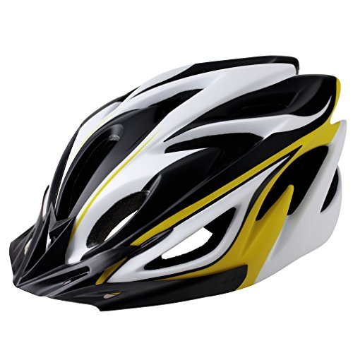 EASECAMP Lightweight Bike Helmet for Adult Men and Women with Detachable Liner and Adjustable Strap, CPSC Certified (Yellow)