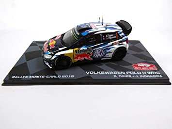 Générique Volkswagen Polo R WRC 2016 Winner Monte-Carlo Ogier 1/43 ...