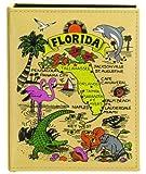 Florida Map Embossed Photo Album 100 Photos / 4x6