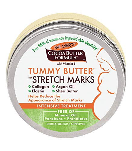 Palmer's Cocoa Butter Formula Tummy Butter Balm for Stretch Marks and Pregnancy Skin Care | Dermatologist Approved & Suitable for Sensitive Skin | Jar 4.4 oz. (Pack of - 38 Cocoa
