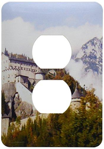 - 3dRose LLC lsp_51625_6 Werfen Castle Salzburg Austria 2 Plug Outlet Cover
