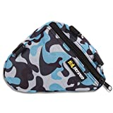 top peak bike stand - Bike Bags, ADiPROD Camouflage Cycling Bike Bicycle Front Tube Triangle Frame Pouch Pannier Case Bag (Blue)