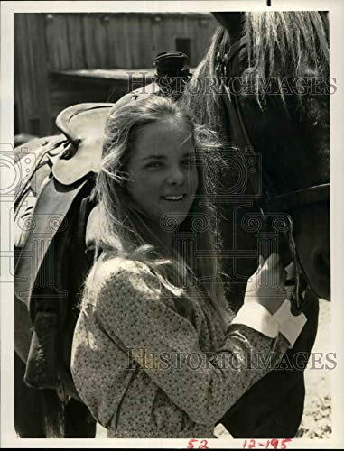 Historic Images - 1976 Press Photo Actress Melissa Sue Anderson on Little House on The Prairie (Melissa Anderson From Little House On The Prairie)