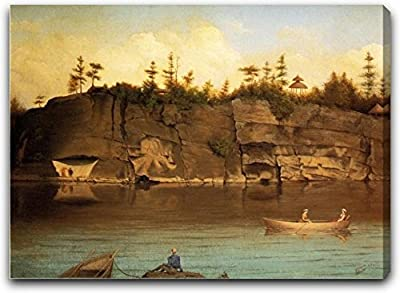 Outing at Lake Mohonk by James Hope