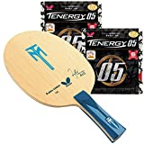 Butterfly Timo Boll ALC FL Blade with Tenergy 05 2.1 Proline Table Tennis Racket, Red/Black