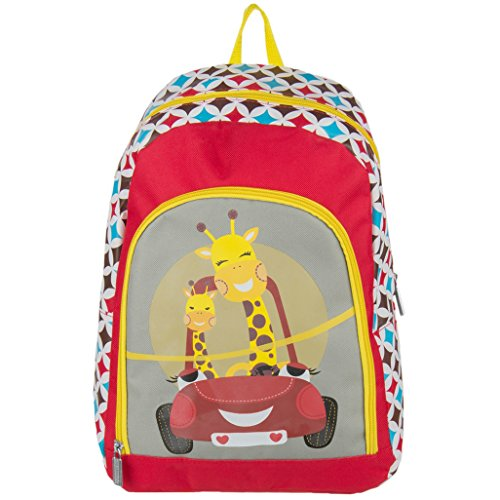 Price comparison product image Nylon Hybrid Kid's Play Backpack School Bag Fits DBPOWER Portable DVD Players (Car)