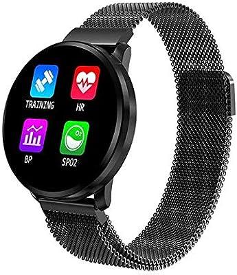 KDSFJIKUYB Smartwatch Más IPS LED Pantalla a Color Fitness Pulsera ...