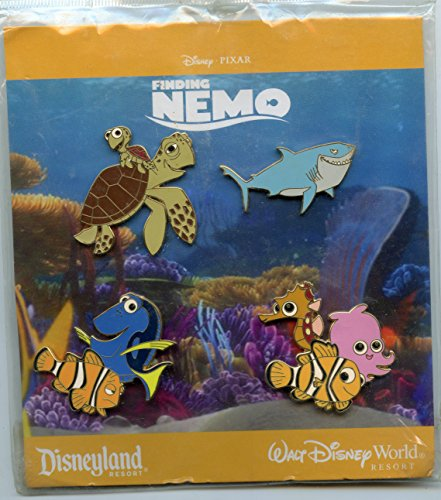 Disney-Pixar's Finding Nemo - 4 Pin Booster Collection