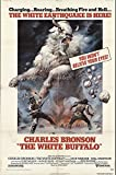 "The White Buffalo 1977 Authentic 27"" x 41"" Original Movie Poster Charles Bronson Western U.S. One Sheet"
