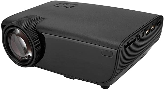 Amazon.com: Simlug Mini Proyector, Home Office W50 ...