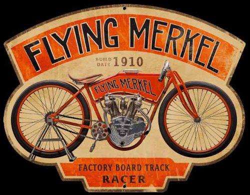 Flying Merkel Die Cut Sign -