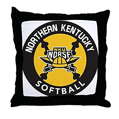 Pattebom Northern Kentucky Nku Norse Softball Canvas Throw Pillow Covers 18 x 18 Home Decor Farmhouse Throw Pillows Case Cushion Covers Decorative for Gifts