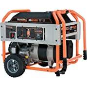 Generac: Portable Generator 8125 Surge Watts, 6500 Rated Watts, 410cc