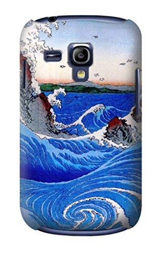 R2422 Awa Province Naruto Whirlpools Ando Hiroshige Case Cover For Samsung Galaxy S3 mini