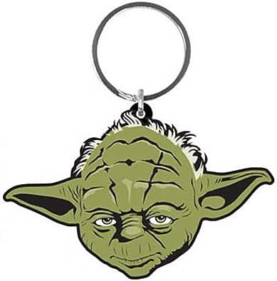 Genuine Star Wars The Mandalorian The Child Rubber Keyring Key Fob