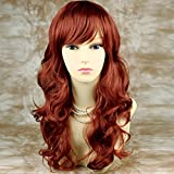 Wiwigs ® NEW Stunning Copper Red Curly Wavy Long Ladies Wigs