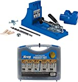 Kreg Jig K4 Pocket Hole System and SK03 Pocket-Hole Screw Kit
