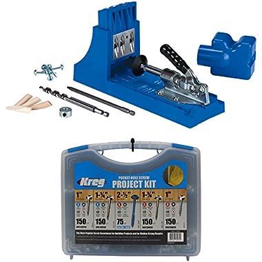 Kreg Jig K4 Pocket Hole System and Kreg SK03 Pocket-Hole Screw Kit