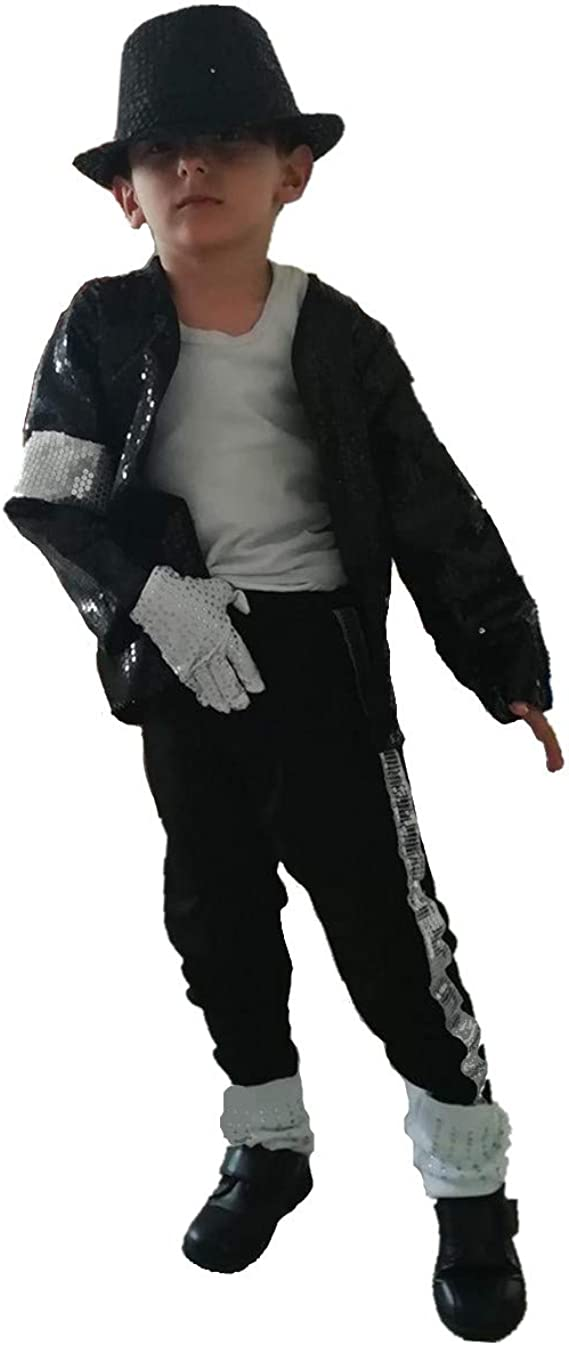 Personalize custom for MJ Billie Jean Jacket Halloween Costume with Glove