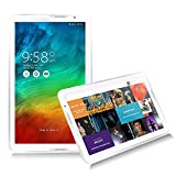 NPOLE Tablet Android 16G 1G IPS 10.6 Inch 5.1 Quad Core CPU 1366x768 Resolution Dual Camera HD Video 3D Game Supported N106 White