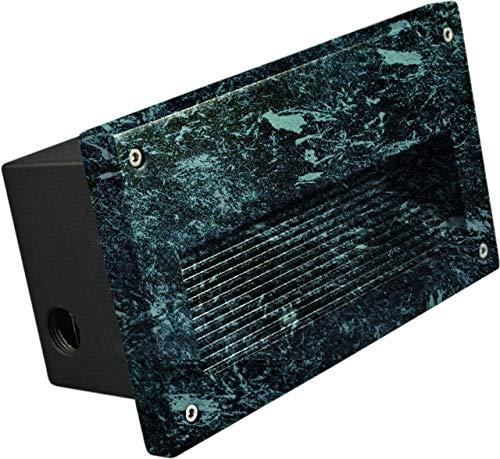 DABMAR LIGHTING DSL1003-LED5-VG Step Light Recessed Lens 5 Watt PL-LED 85-264 Volts, Verde Green