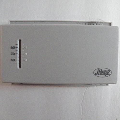 Hunter Mechanical Thermostat For Heating and Cooling Systems