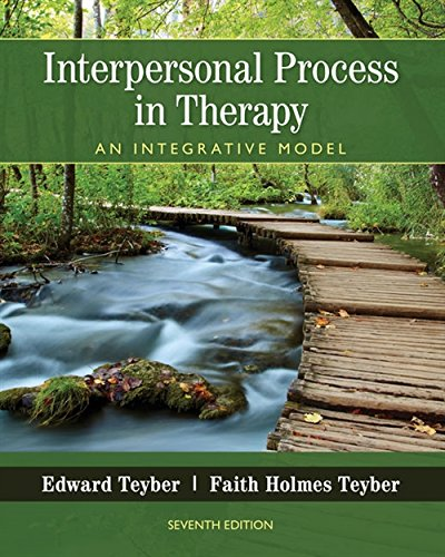 Interpersonal Process in Therapy: An Integrative Model (MindTap Course List)