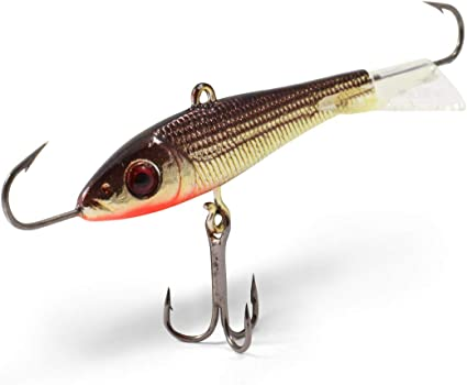 Northland WHS4-20 Whistler Spoon 1//4-Ounce Glow Perch