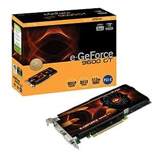 eVGA e-GeForce 9600 GT 512MB DDR3 PCI-E 2.0 Graphics Card (512-P3-N861-AR)