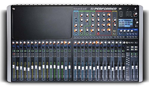 Soundcraft Si Performer 3 Digital 32-Channel Audio Mixer and Lighting Controller