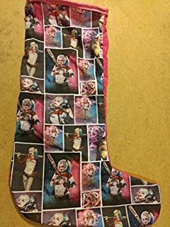 9ca3799613b222 Amazon.com  Official Suicide Squad Harley Quinn Christmas Stocking ...