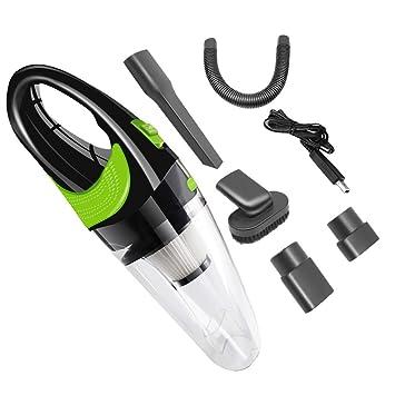 Ahorre 15% Timitai Prácticas herramientas para el hogar aspiradora portátil recargable húmedo seco doble uso aspiradora portátil Tamaño libre Silver Black: ...