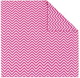 Pirulos Zigzag - Toquilla de punto, color fresa