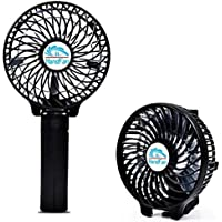 TianNorth Portable Fan Multipurpose Collapsible Battery Fans with Umbrella Hanging and Metal Clip