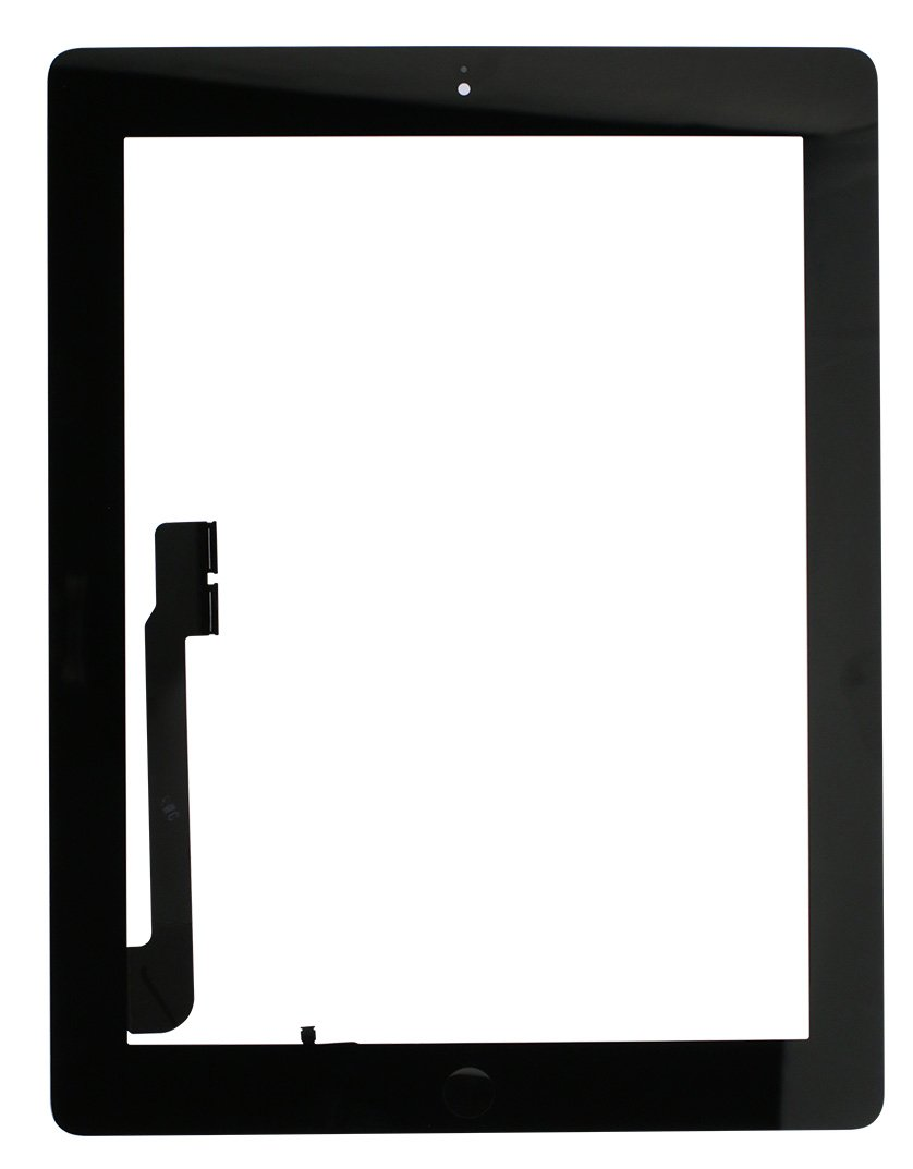 iPad 4 Screen Replacement Glass Touch Digitizer Premium Repair Kit with Tools and Home Button by RepairPartsPlus (Black) by RepairPartsPlus (Image #1)