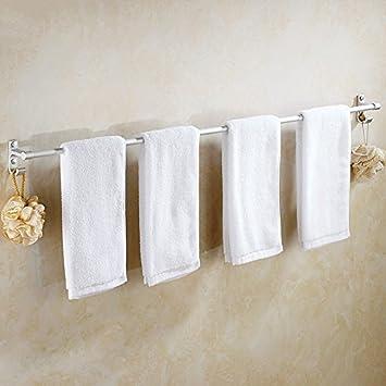 KaO0YaN-Towelrack Barra de toalla colgante del baño de aluminio del espacio polo doble colgante de la toalla barra para colgar toallero del baño , 30 cm: ...