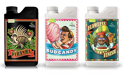 Advanced Nutrients Expert Grower Bundle Piranha, Bud Candy, Flawless...