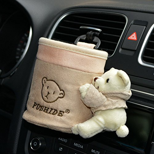 Tianmei Cute Cartoon Bear Doll Styling Car Air Vent Cell Pho