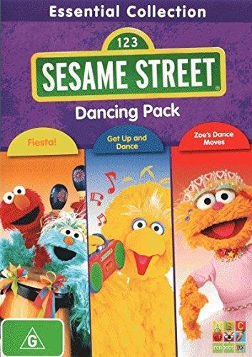 Sesame Street 3-Pack Fiesta! / Get Up and Dance / Zoe's Dance Moves DVD ()