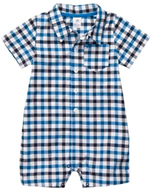 Carter's Baby Boy's Infant Woven Romper